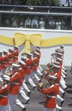 Band Marching by President Bush, Desert Storm Victory Parade, Washington, D.C. Stock Image