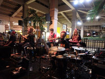 Band Mike Love Jams at Mai Tai Bar Stock Photo