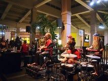 Band Mike Love Jams sings and jams at Mai Tai Bar Royalty Free Stock Images