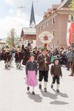 Band of mountain protect kompanie Parsberg Royalty Free Stock Photo