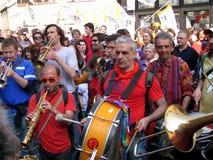 BAND MUSIC,MILAN,ITALY Royalty Free Stock Image