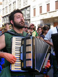 BAND MUSICA,MILAN,ITALY Royalty Free Stock Images
