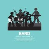 Band Of Musician Black Symbol Stock Photos