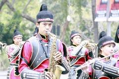 Band-Musiker lizenzfreie stockfotos