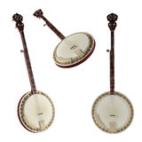 Bandżo. Tradycyjny Wietnam instrument muzyczny. Obraz Stock