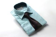 Band- och klänningskjorta för män Royaltyfria Bilder