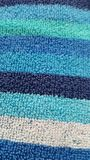 Band på en handduk Royaltyfri Bild