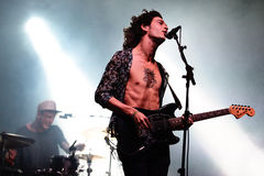 The 1975 (band) performs at FIB Festival Royalty Free Stock Photos