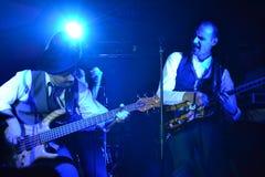 Band playing Stock Image