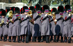 Band of the Queen`s Guard Stock Image