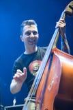 band rockroll för gåta för konsertligan ungersk Royaltyfri Foto