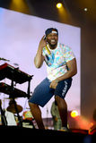 Band Rudimental performing on main stage at Exit Festival Stock Images