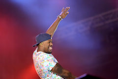 Band Rudimental performing on main stage at Exit Festival Stock Photos