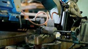 Band Saw Machine Stock Image