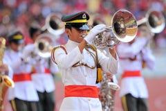 Band in Stadion Royalty-vrije Stock Foto's