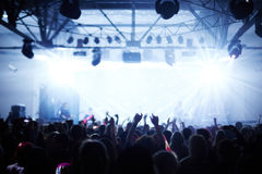 Band on the stage Royalty Free Stock Photo