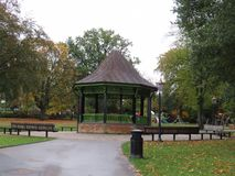 Free Band Stand In The Center Of A Public Park Stock Image - 128839911