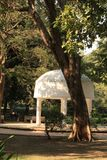 Band Stand in Law Gardens. Law Garden is a public garden in the city of Ahmedabad, India. The market outside the garden is very famous for the handicraft goods royalty free stock images