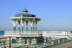 Band stand by the sea Stock Image