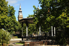 Band stand Southport floral town Merseyside. Stock Images