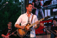 Band From TV,James Denton Stock Photo