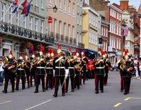 Band van de Blauw en Royals in Koninklijke Windsor Royalty-vrije Stock Afbeelding