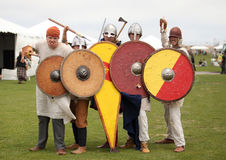Band of Warriors Royalty Free Stock Photography