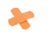 bandaża krzyż Zdjęcia Stock