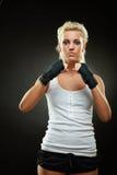 bandaża piękne czarny boksera dziewczyny ręki Zdjęcie Royalty Free
