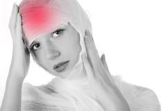 bandaża w pełni kobieta Fotografia Royalty Free
