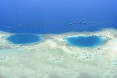 Banda海海岛 库存图片