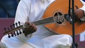 Banda árabe de la música almacen de video