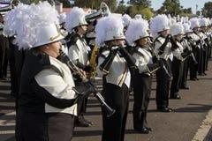 Banda 2012 de la universidad del desfile del cuenco de la fiesta Fotografía de archivo libre de regalías