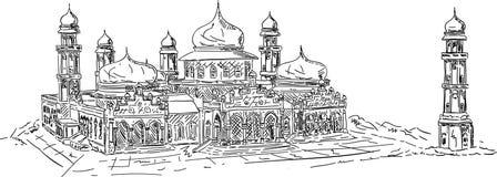 Banda aceh mosque Stock Photography