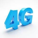 banda ancha 4G ilustración del vector