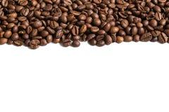 Banda arrostita dei chicchi di caffè immagini stock