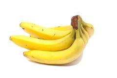 banda bananów występować samodzielnie Zdjęcie Royalty Free