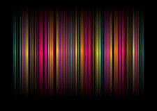 Banda BG del Rainbow Fotografia Stock Libera da Diritti
