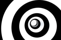 banda in bianco e nero, ripetente le linee, rappresentazione 3d illustrazione vettoriale