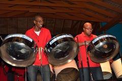 Banda de acero del Caribe Imagen de archivo