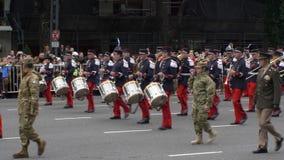 Banda de Francia en celebraciones bicentenarias del Día de la Independencia de la Argentina
