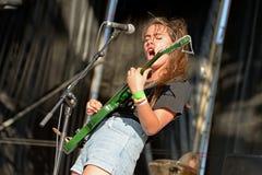 Banda de Hinds en concierto en el Fest del MBC Imagen de archivo libre de regalías