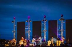 Banda de jazz Fotografia de Stock