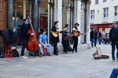 Banda de la calle Fotos de archivo