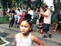 Banda de la calle, Embu das Artes Fotografía de archivo libre de regalías