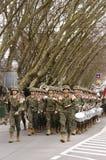 Banda de la guerra Imagenes de archivo