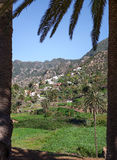 Banda de las Rosas en el La Gomera imagen de archivo