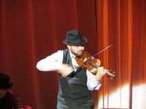 Banda de Leonard Cohen (Lucca 2013) Foto de archivo libre de regalías