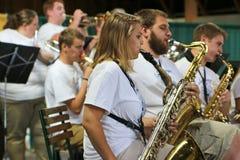 Banda de música de la comunidad Foto de archivo libre de regalías