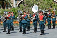 Banda de metales del Kremlin Imagen de archivo libre de regalías